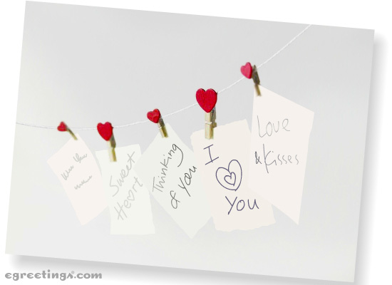 Show your love with ecards